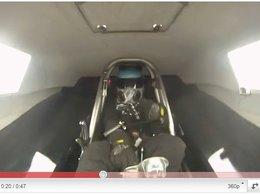 Insolite : quand un pilote de Dragster perd son volant
