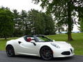 Photos du jour : Alfa Romeo 4C Spider (Exclusive Drive)