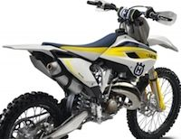 Husqvarna: les Cross 2015
