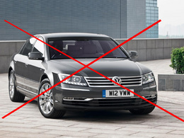 Volkswagen arrête la Phaeton en Angleterre