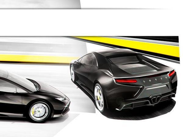 Le nouveau V8 Lotus aura des dérivés V6 et 4 cylindres