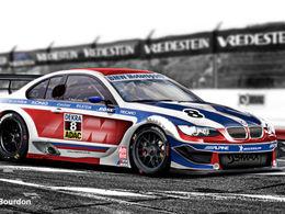La BMW M3 DTM Concept dévoilée le 15 juillet prochain