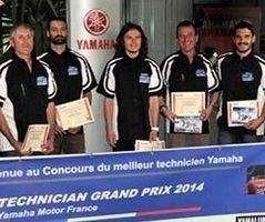 Actualité - Yamaha: les mécaniciens mis à l'honneur