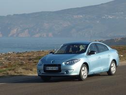 La Renault Fluence ZE débranchée