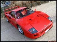 La photo du jour du Rallye de Paris : Ferrari F40