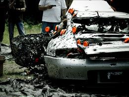 Sa Porsche 911 casse son moteur : elle finira sur le stand de tir