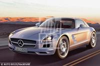Future Mercedes SLS AMG: comme ça?