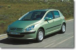 Peugeot 307   Les décotes se font attendre