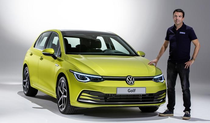 Volkswagen Golf 8: la techno-parade (présentation vidéo)