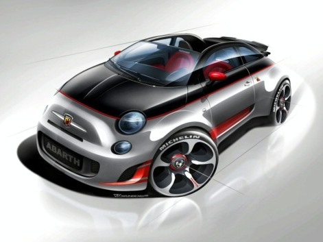 Future Abarth 500 Speedster : quelques infos