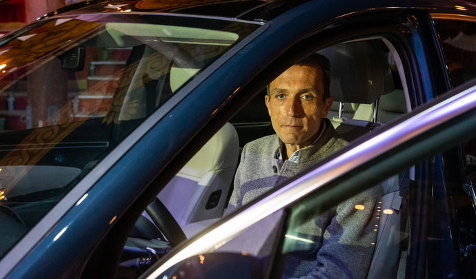 """Interview de Lionel French Keogh (président de Hyundai France) """"Ioniq va devenir une vraie marque électrique avec plusieurs modèles"""" - Salon Caradisiac 2021 : """""""