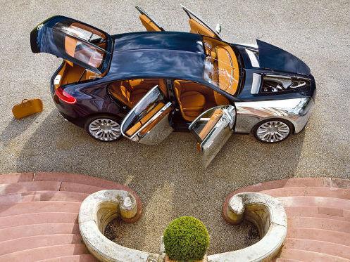 Le concept Bugatti Galibier 16C s'appellera-t-il Royale en série ?