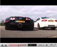 Bugatti Veyron vs BMW M3 Coupé E92