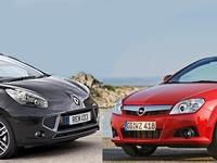 Opel Tigra Twintop 90 ch vs Renault Wind100 ch: deux coupés-cabriolets funs et pas chers, dès 3000/4000€