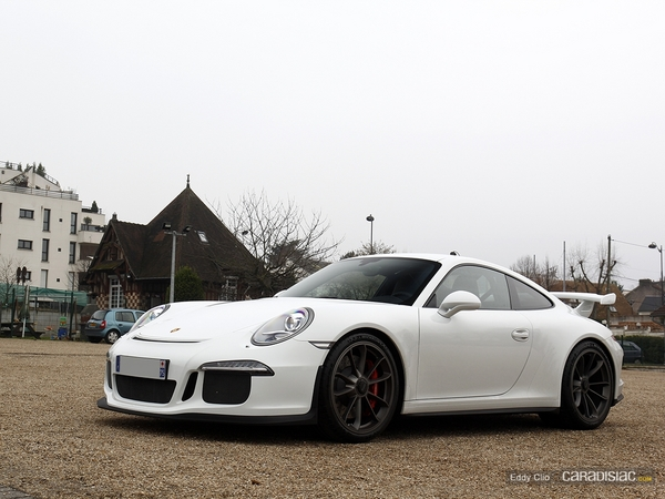 Photos du jour : Porsche 911 991 GT3 (Cars & Coffee Paris)