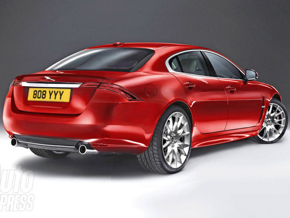 Future Jaguar X-Type: comme ça?