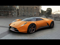 Lamborghini Insecta Concept par Iulian Bumbu