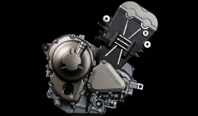 Zontes présente son nouveau moteur trois-cylindres