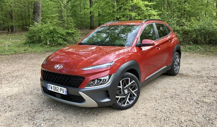 Essai – Hyundai Kona Hybrid (2021): armé pour enfin faire face à une concurrence?