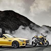 Salon - Bologne Motor Show: Ducati et AMG nous servent un jaune
