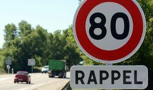 Près de 4 Français sur 10 pensent ne pas respecter les80km/h