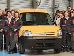 """250 Citroën Berlingo électriques """"powered by Venturi"""" livrés"""