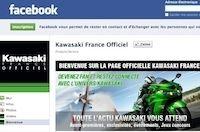 Kawasaki France a désormais son Facebook