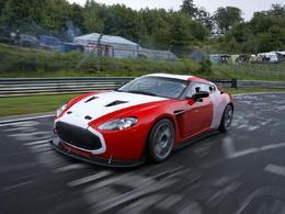 24 Heures du Nürburging - Photos officielles de l'Aston Martin V12 Zagato