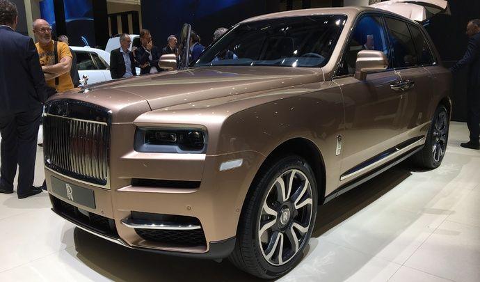 Rolls Royce Cullinan : gentleman farmer - Vidéo en direct du Salon de Genève 2019