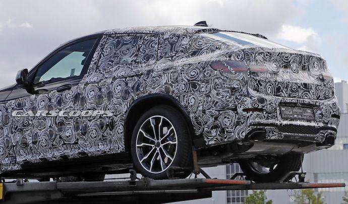Le nouveau BMW X4 se montre déjà
