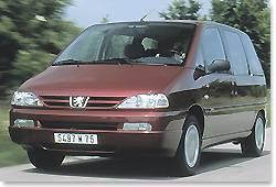 Peugeot 806 : le profil haut