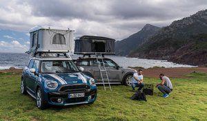 Mini dévoile une tente pour le Countryman
