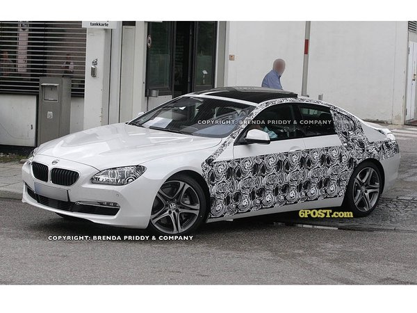 Surprise : la BMW Série 6 Gran Coupé pour la première fois