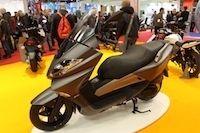 Nouveauté scooter 2012 : Keeway Silverblade 125 cm3
