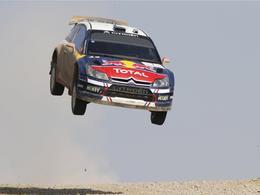 Haute voltige et jolies photos : la sélection aérienne de Citroën en WRC