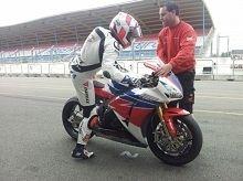 Superbike - Honda: Leon Haslam a déjà lancé l'intersaison à Assen
