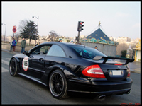 La photo du jour du Rallye de Paris : Mercedes CLK DTM AMG