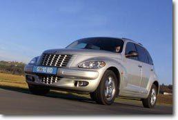 Chrysler PT Cruiser   Travelling arrière…