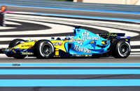 Deuxième journée d'essais privés sur le circuit Paul Ricard