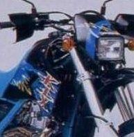 20 ans déjà : La Kawasaki 650 KLX au salon de Cologne