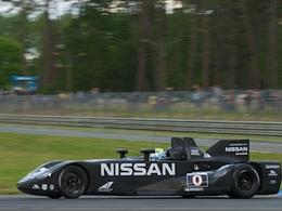La DeltaWing Nissan à Petit Le Mans!