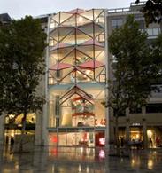 Le C42: la nouvelle vitrine de Citroën sur les Champs Elysées