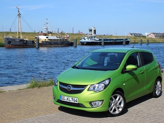 L'Opel Karl arrive en concession : potentiel intéressant