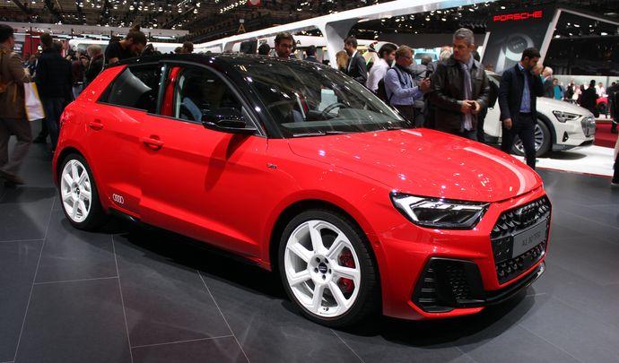 Audi A1 Sportback: plus masculine - Vidéo en direct du Mondial de Paris 2018
