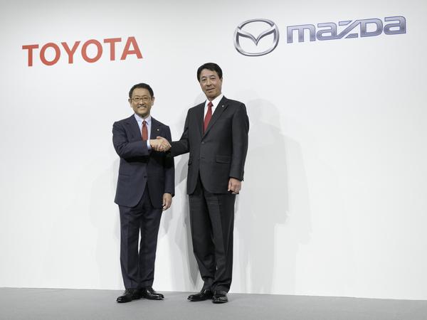 Toyota et Mazda ensemble pour un nouveau SUV et un véhicule 100% électrique