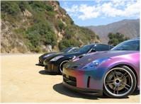 3 Nissan 350Z Au soleil...