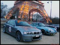 La photo du jour du Rallye de Paris : BMW M3 CSL