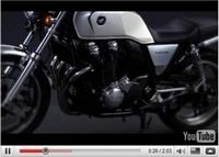 Honda CB 1100 2010 : La première vidéo sous sa forme officielle