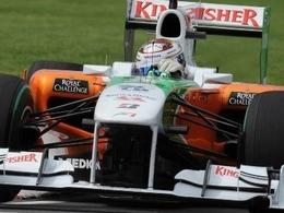 Adrian Sutil domine les essais libres 1