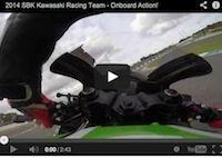 WSBK Kawasaki Racing Team 2014: les hommes en vert en action (vidéo)